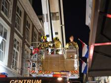 Hulpdiensten rukken uit voor kleine brand in de Molenstraat