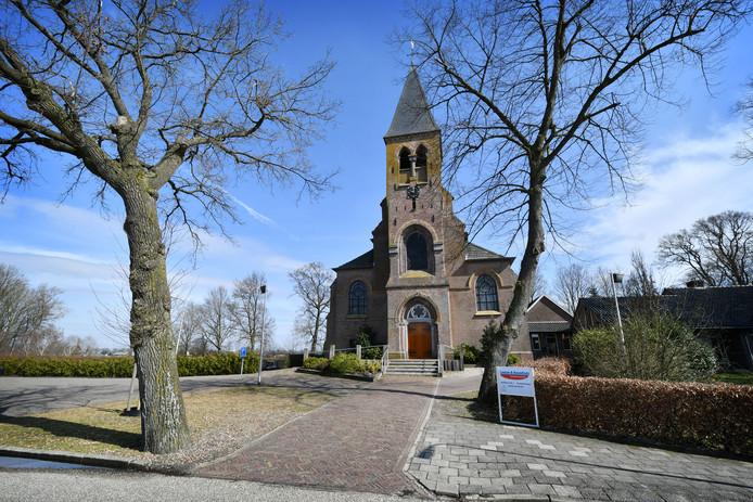 De St. Willibrorduskerk in Vroomshoop.
