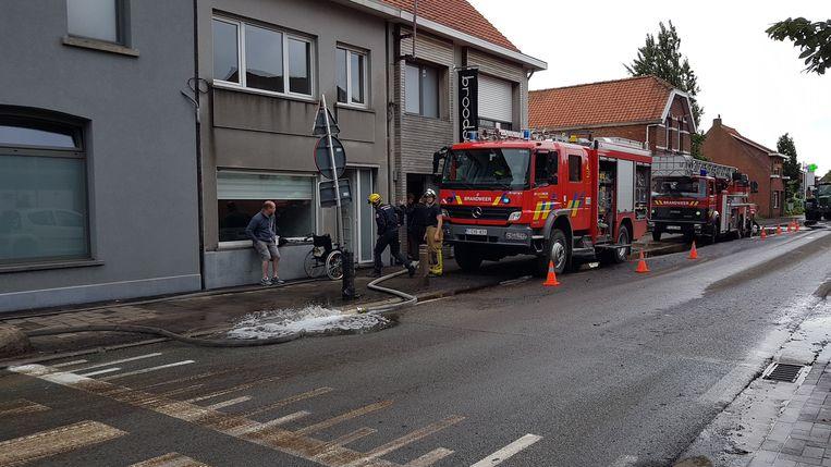 Ook vandaag is de brandweer in Kalmthout nog druk in de weer.