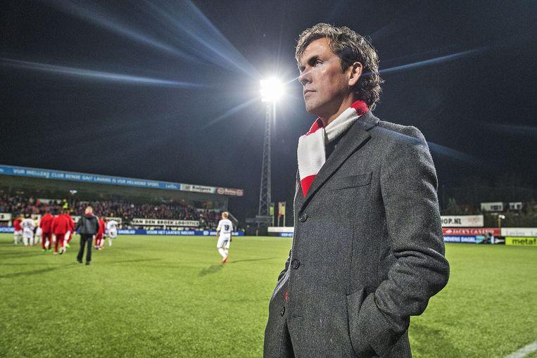 Alex Pastoor, coach van Sparta. 'Ik heb er alle geloof in.' Beeld Guus Dubbelman