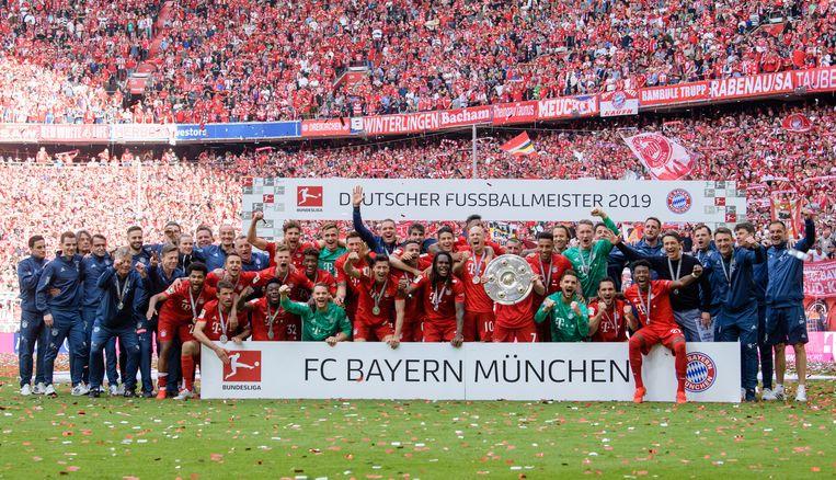 De Duitse landskampioen.