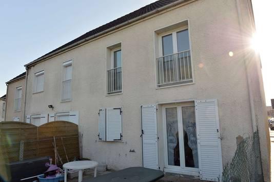 De woning in Chartres waar Mostefaï twee jaar geleden woonde.