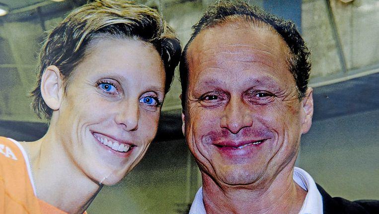 De vermoorde oud-volleybalster Ingrid Visser en haar (eveneens vermoorde) partner Lodewijk Severein. Beeld ANP