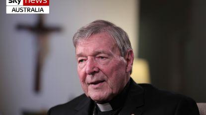 Australische kardinaal Pell schoof kindermisbruik door priesters decennialang onder de mat