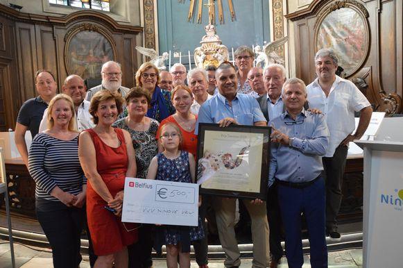De Ninoofse zwerfvuiljagers winnen de Prijs Toerisme 2019.