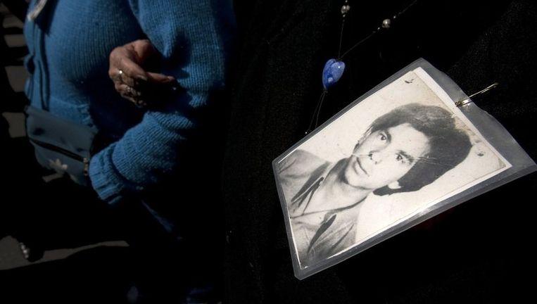Tijdens de militaire dictatuur zijn duizenden Chilenen verdwenen en gemarteld. Foto EPA Beeld