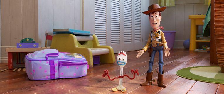 'Toy Story 4', een productie van Pixar.
