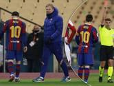 Koeman loopt eerste prijs bij Barcelona mis, unieke rode kaart voor Messi
