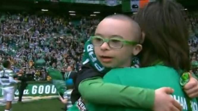 Celtic bezorgt jongetje met Down ongelofelijk moment