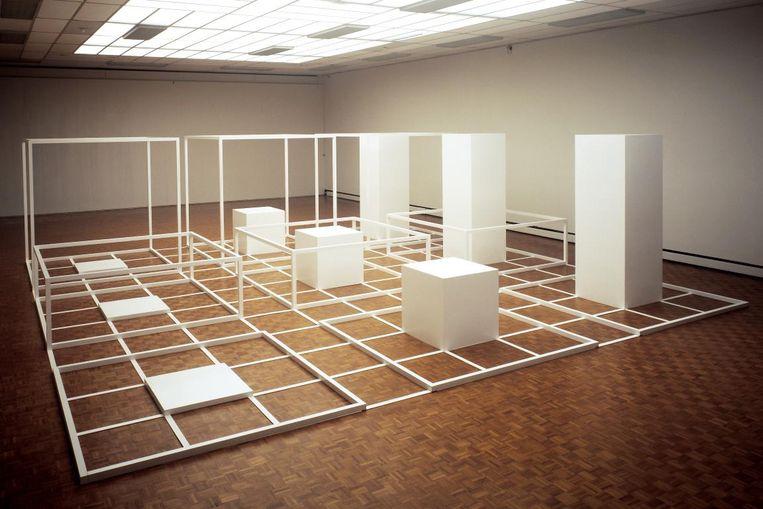 Sol LeWitt: Serieel Project nr. 1: Groep B (1966-1970) Beeld