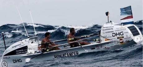 Aan de leiding: Na 5000 kilometer roeien komen Slats en Wiedmer aan in Antigua