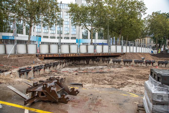 Het bruggetje in Zwolle.