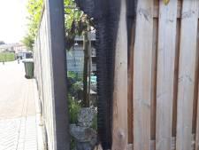 Politie zoekt een brandstichter in Langeraar