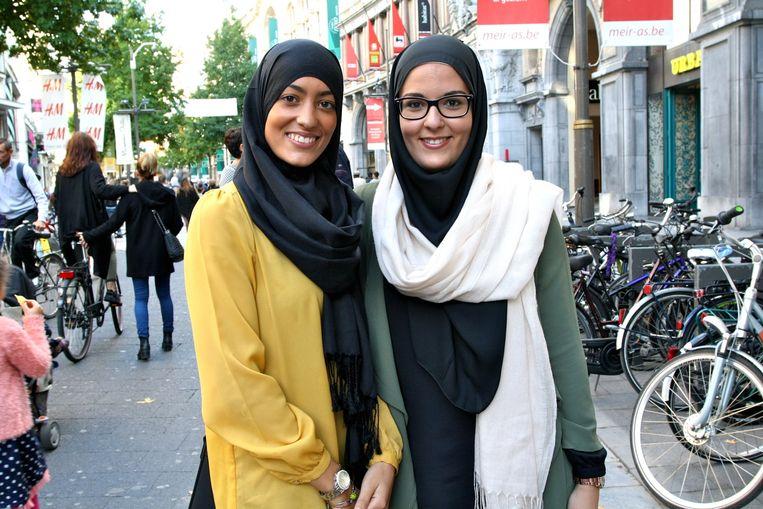 Samira en Soumia.