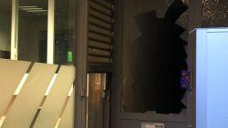 Bankdirecteur door glazen voordeur geduwd bij mislukte overval op Argenta in Deurne