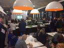 De Ideeënfabriek in Uden puilde maandagavond uit door de massale belangstelling voor de info-avond over het Dico-terrein.