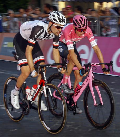 Tom Dumoulin bleef fier overeind in krankzinnige Giro