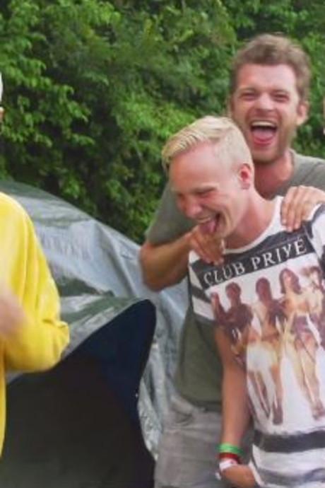 Youtubers Thijs en Joep crashen op Nederlandse campings