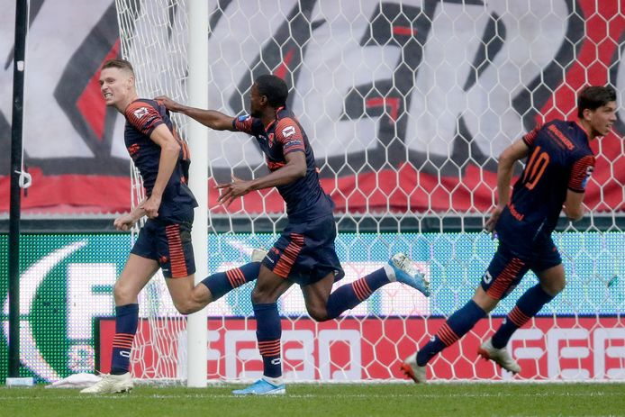 Ingo van Weert na zijn doelpunt.