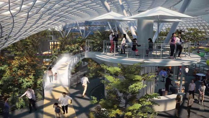 Le futur aéroport de Singapour