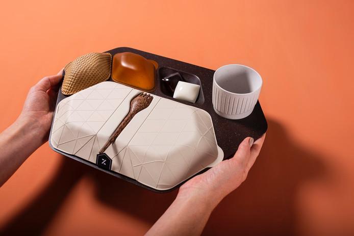 Le plateau-repas aérien du futur.