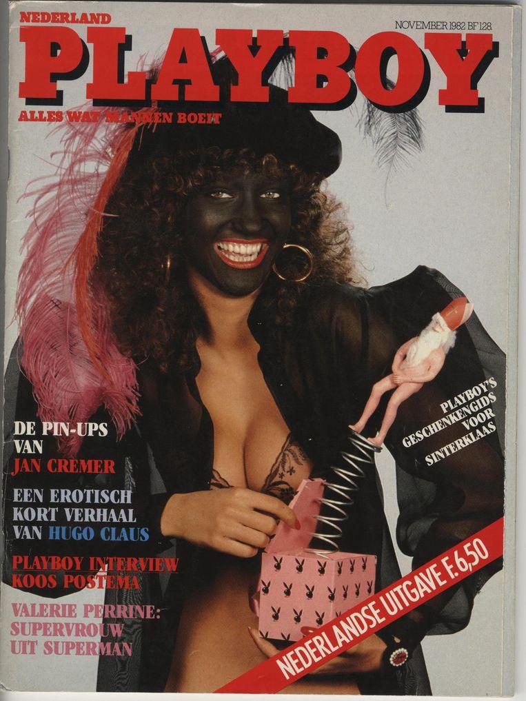 Cover van de Playboy, afkomstig uit 1982. Beeld null