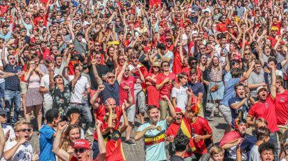 Wat een WK: 111.000 supporters en honderden vaten bier
