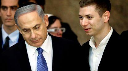 Dronken Netanyahu junior brengt zijn vader in verlegenheid