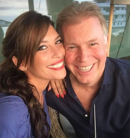 De 34-jarige Rebecca Cabau van Kasbergen met haar 24 jaar oudere Marcel Boekhoorn (58).