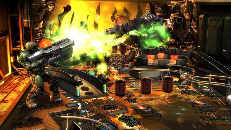 Bethesda Pinball: Doom. Beeld Zen Studios