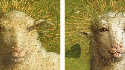 Origineel Lam Gods na meer dan 400 jaar opnieuw blootgelegd