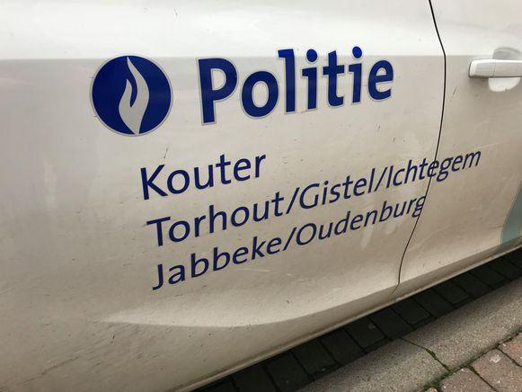De politie Kouter stelde een PV op.