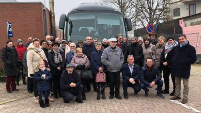 Inwoners Glabbeek met Rap op Stap op uitstap naar Winterland