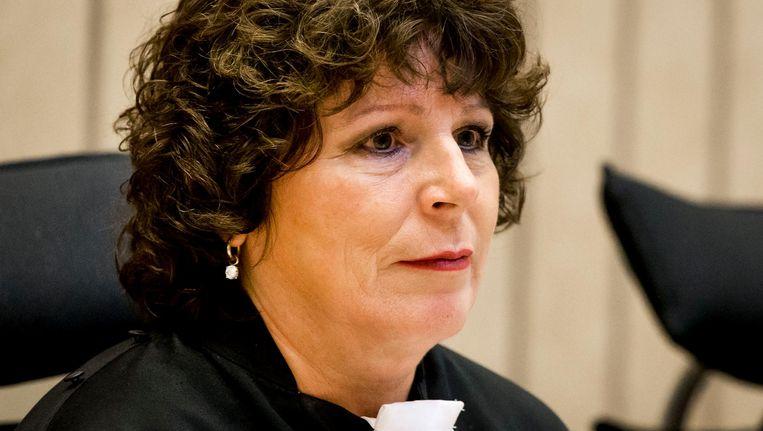 Rechter Elianne van Rens mag blijven in het proces tegen Geert Wilders. Beeld anp