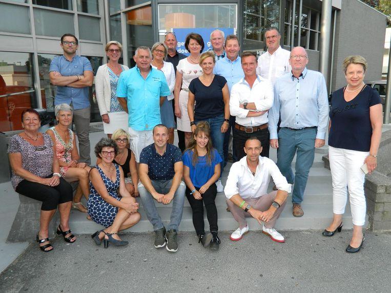 Open Vld heeft nu maar twee zetels, maar wil twee tot drie keer groter worden met deze groep kandidaten.
