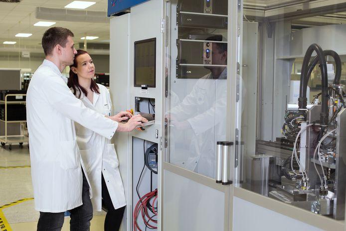 Productie bij Neways in Riesa, het Duitse bedrijf dat in 2014 werd overgenomen.