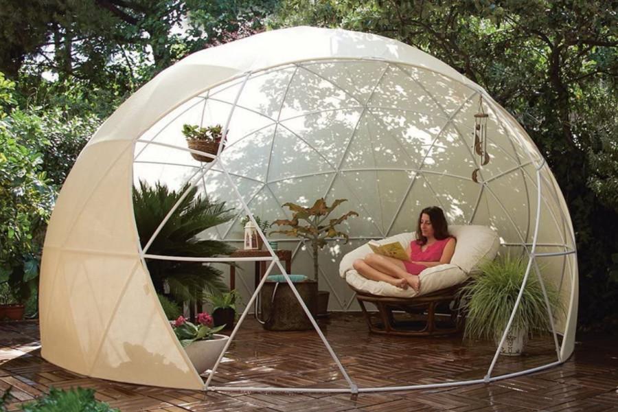 Pour acquérir cet igloo insolite, vous devrez débourser la somme de 800 euros, rien que ça.