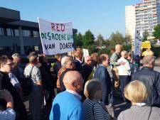 Tientallen Dongenaren protesteren in Den Bosch tegen aanleg N629
