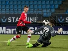 Middelmatig NAC verliest kansloos bij Jong PSV: 2-0
