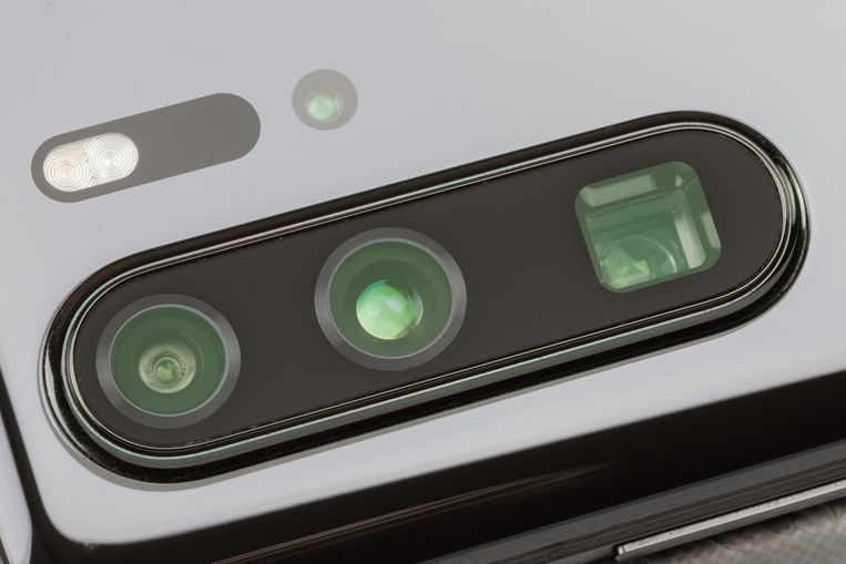 De camera-opstelling van de P30 Pro.