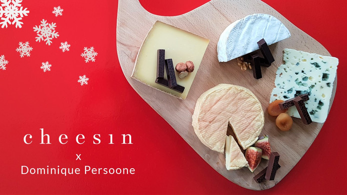 Dominique Persoone maakte de combinaties tussen kaas en chocolade.
