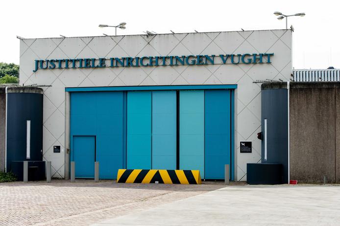 De terroristenafdeling van de penitentiaire inrichting in Vught.
