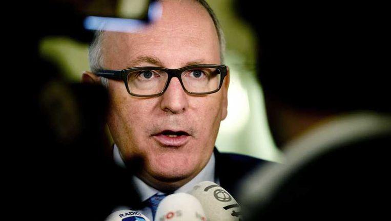 Minister Timmerman van Buitenlandse Zaken. Beeld anp