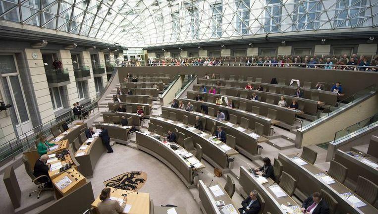 Het Vlaams parlement.