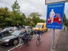 In Utrecht, 'de beste fietsstad ter wereld', gebruikt 51 procent de fiets dagelijks