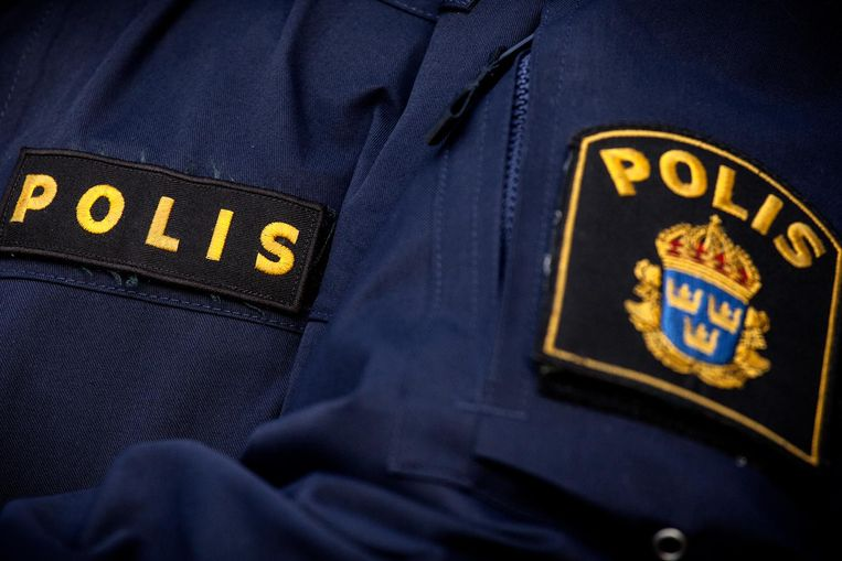 Police in sweden uniform