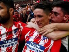 Torres scoort twee keer bij laatste duel voor Atlético