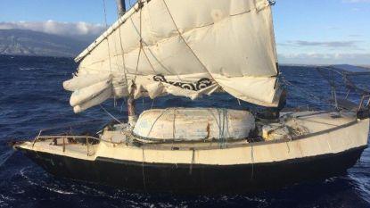 Australische man in zelfgemaakte boot na 100 dagen gered voor kust van Hawaï