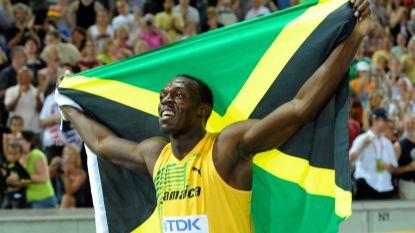 Usain Bolt aanwezig bij opening van olympisch stadion in Tokio