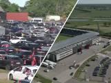 Tweeduizend auto's bij drive-in-wedstrijd in Denemarken
